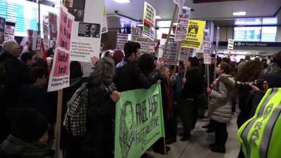 Filistinli Temimi'ye destek gösterisi - NEW YORK