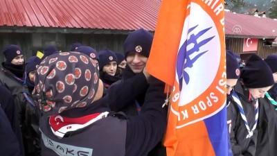 İzcilerden Afrin'deki Mehmetçiğe dua - İSTANBUL
