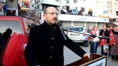 Zeytin Dalı Harekatı'nda görev yapan Mehmetçik için 1 tır su gönderildi