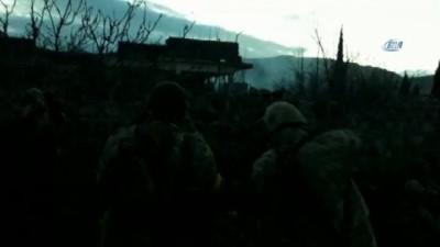 TSK ve ÖSO Afrin kırsalındaki köyleri böyle çatışarak aldı