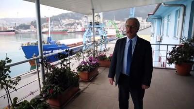Trabzon Limanı'ndan yılda 1 milyon ton hububat gönderiliyor - TRABZON