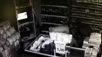 Marketten hırsızlık güvenlik kamerasında - BURSA