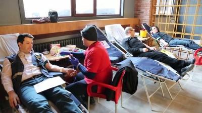 Zeytin Dalı Harekatı'na kan bağışlı destek - BOLU