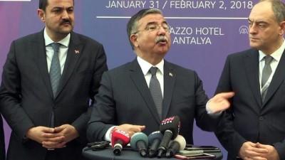 Milli Eğitim Bakanı Yılmaz, gazetecilerin sorularını yanıtladı (2) - ANTALYA