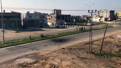 PYD/PKK'dan Reyhanlı'ya roketli saldırı - Atılan roket boş durumdaki eve ve yola isabet etti (2) - HATAY