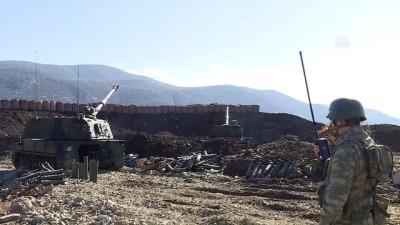 Zeytin Dalı Harekatı'nda 'Fırtına' etkisi - AFRİN