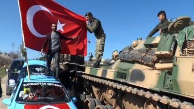 Tankçılar Darmık'a harekat için bekliyor