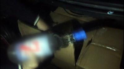 Kahramanmaraş'ta kaçak içki operasyonu