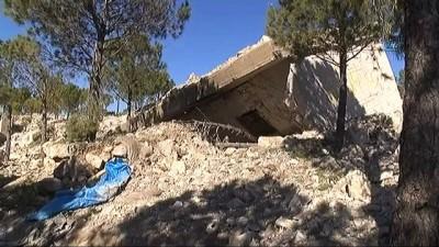 - Burseya Dağı'ndaki PKK/PYD kampı görüntülendi