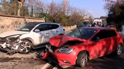 Üsküdar'da trafik kazası: 2 yaralı