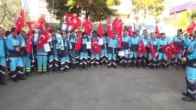 AK Parti Gençlik Kollarından askere destek - KAHRAMANMARAŞ