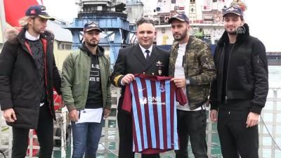 TCSG/DOST Arama Kurtarma Gemisi ziyarete açıldı - TRABZON