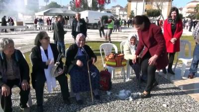 Manavgat'ta kar şenliği - ANTALYA