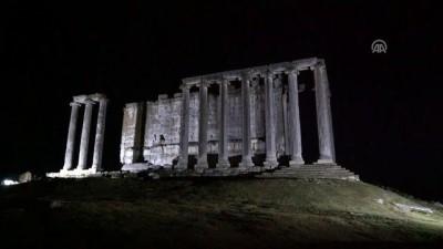 Zeus Tapınağı'nda 'Süper Kanlı Mavi Ay' tutulması - KÜTAHYA