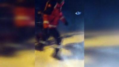 Kars'ta, tipide mahsur kalan öğrencileri AFAD  kurtardı