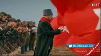 Mehmetçik Kütulamare'ye damga vuran sahne