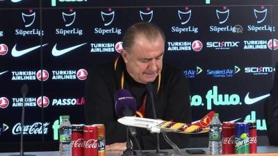 Fatih Terim: 'İlk yarının oyun kalitesinden, isteğinden son derece memnunum' - İSTANBUL