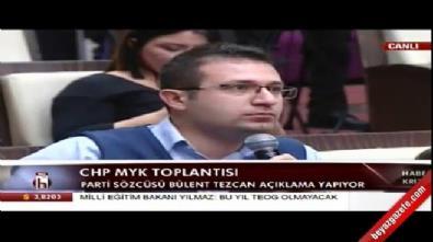 Bülent Tezcan'ın cevap veremediği soru...