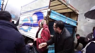 Şırnak'ta İHH'den 800 aileye yardım