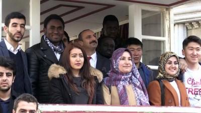 Yabancı öğrenciler 'Payitaht Abdülhamid' setini gezdi - KOCAELİ