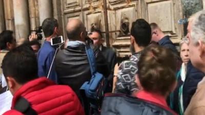 - Kıyamet Kilisesi, İsrail'i protesto etti