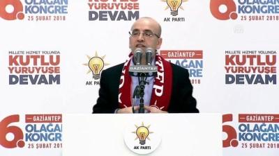 Başbakan Yardımcısı Şimşek - AK Parti 6'ncı Olağan İl Kongresi'nde konuştu - GAZİANTEP