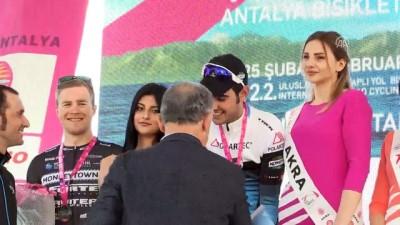 Antalya Bisiklet Turu - Rus sporcu Ovechkin, genel klasmanda birinciliği elde etti - ANTALYA