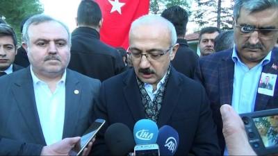 Bakan Elvan, 'Güvelik tesis edilince Suriyelilerin dönmesini arzu ediyoruz'