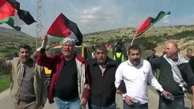 Batı Şeria'daki gösterilere müdahale - RAMALLAH
