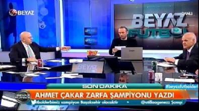Ahmet Çakar şampiyonu yazdı