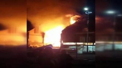 İngiltere polisi patlamanın olduğu bölgede geniş güvenlik önlemi aldı