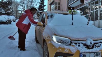 Doğu Anadolu'da kar - KARS