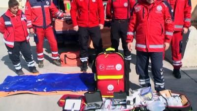 Sağlıkçılar gönüllü 'Afrin nöbeti'nde - HATAY