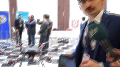 Savunma Sanayii'nde kullanılmak üzere askeri komutla çalışacak drone geliştirdi