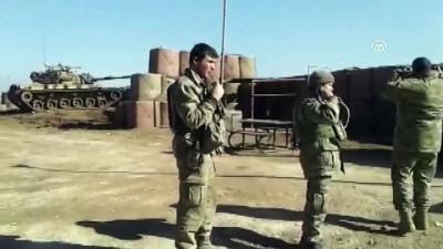 Zeytin Dalı Harekatı - Türk tanklarının hedefleri vurma anı - AFRİN