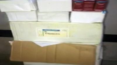 Van'da 53 bin 605 adet kaçak hayvan ilacı ele geçirildi
