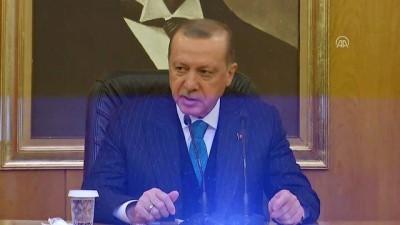 Erdoğan: 'Bu ziyaretlerimizin tarihi anlamda çok ciddi önemi haiz' - İSTANBUL