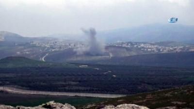 İHA'lar buldu obüsler vurdu... Afrin'de hatlar birleşti, hilal oluştu