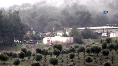 Darmık dağı arkası vuruluyor... Tanklar böyle ateşlendi