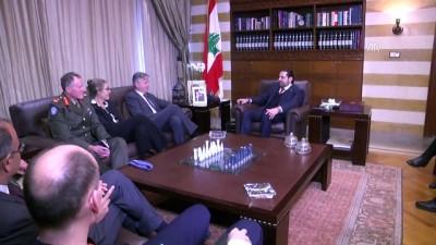 Lübnan Başbakanı Hariri, BM Genel Sekreter Yardımcısı Lacroix'i kabul etti - BEYRUT
