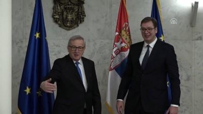 Vucic-Juncker görüşmesi - BELGRAD