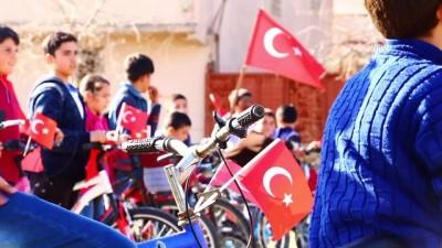 Öğrencilerden Mehmetçiğe GPS yardımıyla selam - HATAY