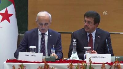 Türkiye-Cezayir İş Forumu - DEİK Başkanı Olpak - CEZAYİR