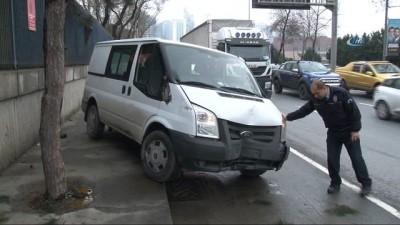İstanbul'da bir garip kaza