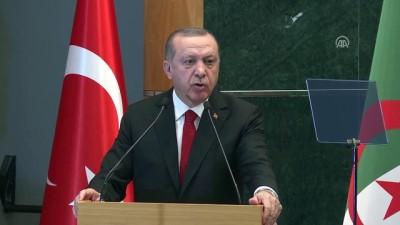 Cumhurbaşkanı Erdoğan'dan Türk iş adamlarına 'Cezayir' çağrısı - CEZAYİR