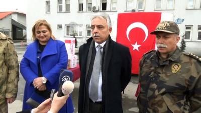 Hakkari'den Mehmetçik'e destek