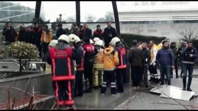 Metro istasyonunda 'yürüyen merdiven' kazası (1) - İSTANBUL