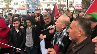 Batı Şeria'da Filistinli Seradih'in gözaltında öldürülmesi protesto edildi - NABLUS