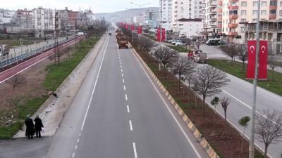 Suriye sınırına askeri sevkiyat - Askeri araçlar Kilis'e ulaştı - KİLİS