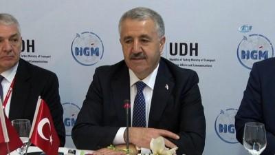 Bakan Arslan: 'Bakanlık olarak bizim düzenlemeler yaparak sektörün önünü açmamız önemli'